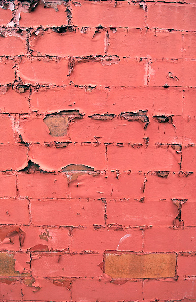 Brick Wall「Detail of paint peeling of a brick wall」:写真・画像(8)[壁紙.com]