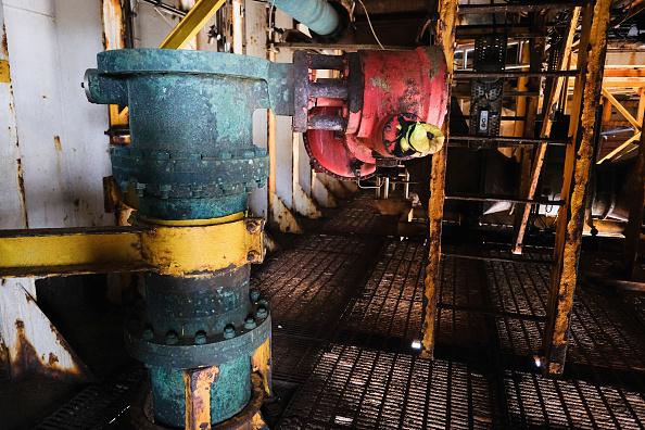 Industry「Inside The Brent Delta Oil Rig」:写真・画像(15)[壁紙.com]
