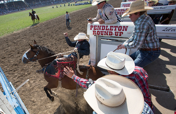 Pendleton - Oregon「Annual Pendleton Rodeo Round-Up Draws Crowds To Pendleton」:写真・画像(0)[壁紙.com]