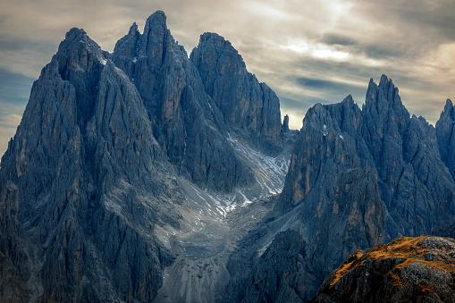 Alto Adige - Italy「View of Cadini di Misurina from the saddle, Dolomiti, Italy」:スマホ壁紙(5)
