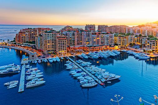 Moored「Fontvielle, Monaco harbour, Monaco」:スマホ壁紙(19)