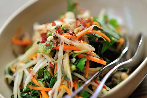 Asian Style Salad:スマホ壁紙(壁紙.com)