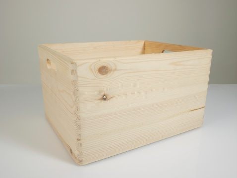 カラの箱「空の木の箱」:スマホ壁紙(12)