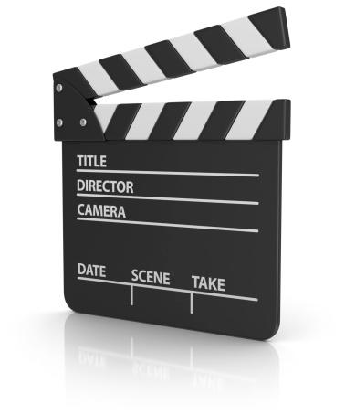 Film Reel「film slate」:スマホ壁紙(16)