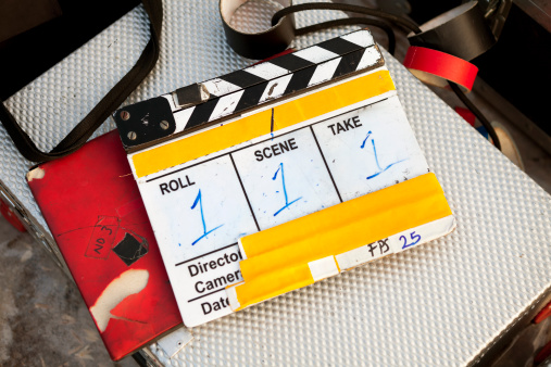 Director「film slate」:スマホ壁紙(6)