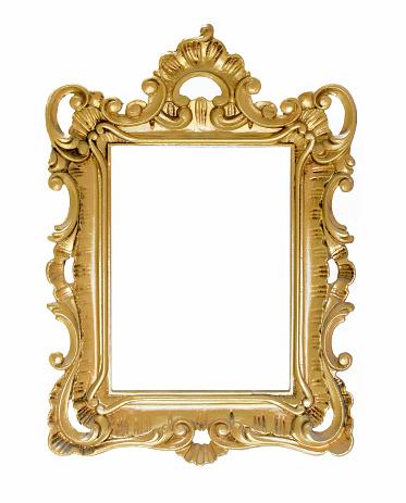 Frame - Border「Antique Golden frame」:スマホ壁紙(4)