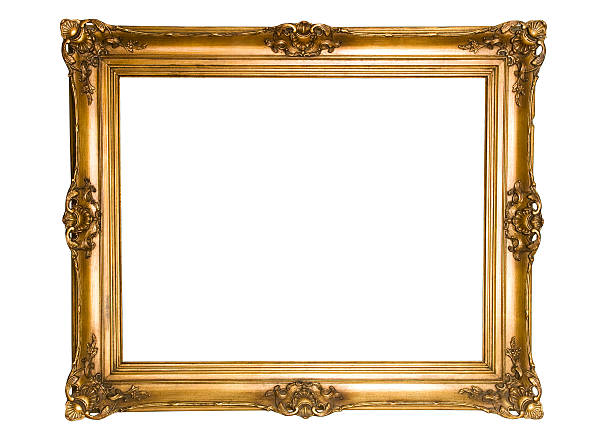 Antique Gold Frame:スマホ壁紙(壁紙.com)
