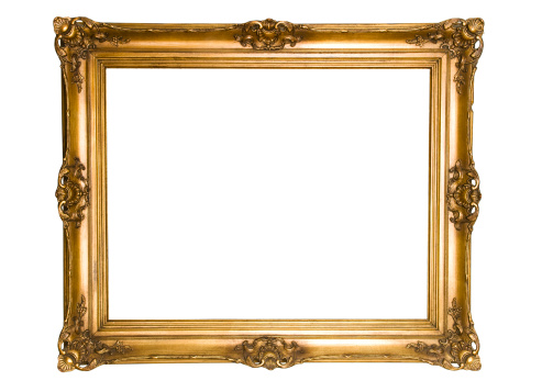 Art And Craft「Antique Gold Frame」:スマホ壁紙(16)