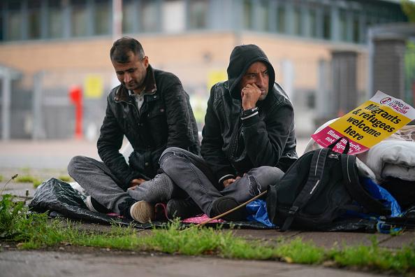 Glasgow - Scotland「Afghan Refugees Go On Hunger Strike」:写真・画像(8)[壁紙.com]