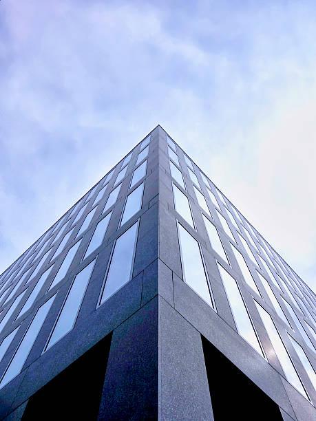 Switzerland, Zurich, facade of modern office tower:スマホ壁紙(壁紙.com)