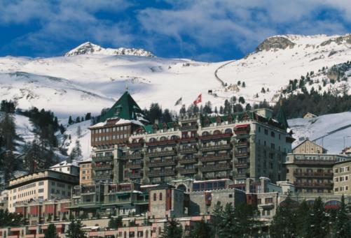 Ski Resort「Switzerland, St Moritz, ski resort in winter」:スマホ壁紙(17)