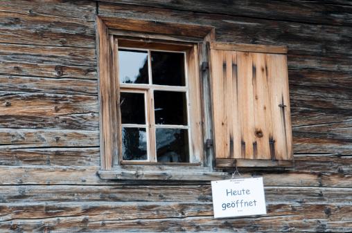Arosa「Switzerland, Arosa, Frame house with sign, Opened」:スマホ壁紙(19)