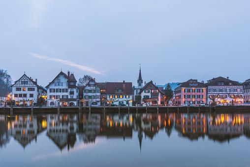 Thurgau「Switzerland, Thurgau, Gottlieben in the evening」:スマホ壁紙(18)