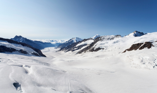 Glacier「Switzerland, Bernese Oberland, Aletsch Glacier and Jungfraujoch」:スマホ壁紙(13)