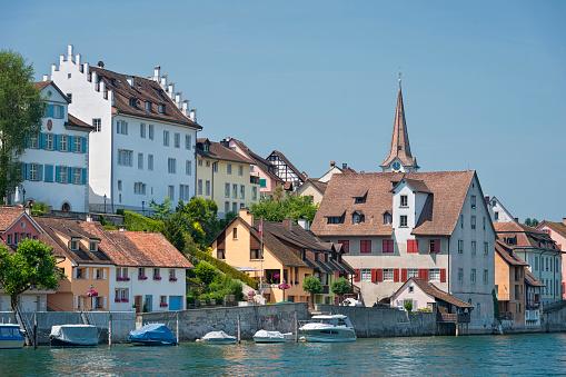 Thurgau「Switzerland, Thurgau, Diessenhofen, townscape with Rhine」:スマホ壁紙(13)