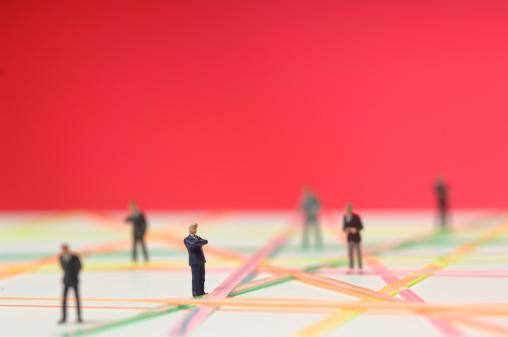 アイデア「'Business network, figurines'」:スマホ壁紙(15)