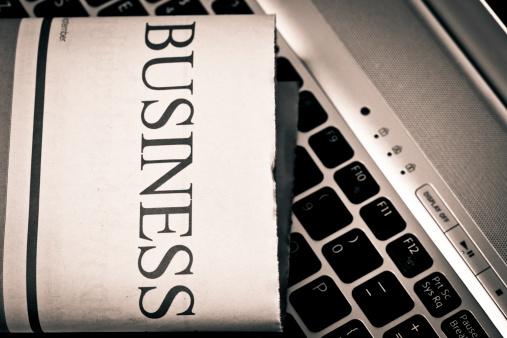 名画「ビジネスニュース」:スマホ壁紙(18)