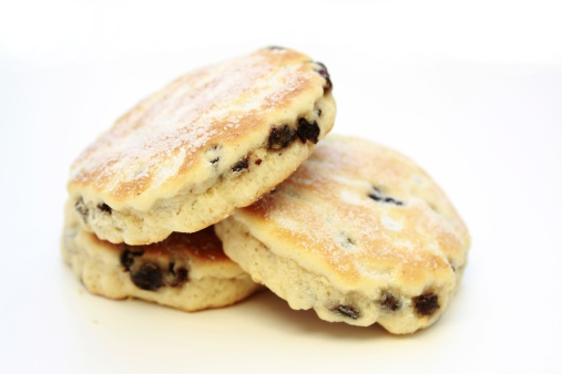 Griddle「Welsh Cakes on white background」:スマホ壁紙(16)