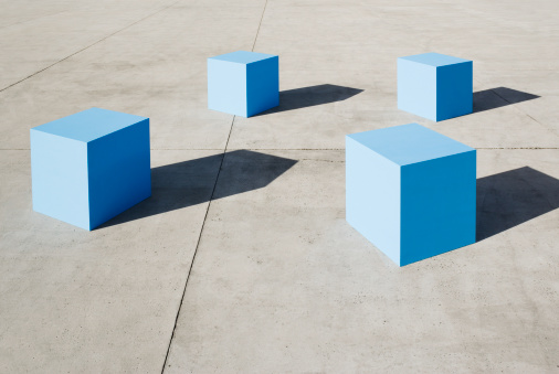 Shadow「Large blue blocks」:スマホ壁紙(16)