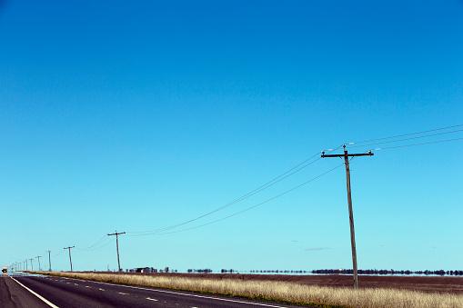 Electricity Pylon「Warrego Highway」:スマホ壁紙(12)