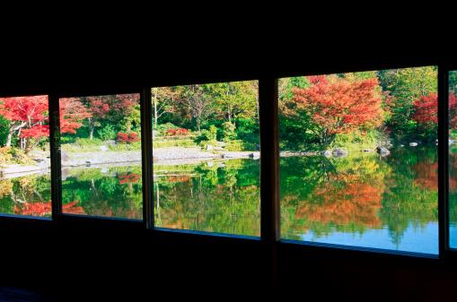 Japanese Maple「Autumn Japanese Garden」:スマホ壁紙(7)