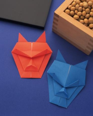 Matsuri「Origami Setsubun, Demon, Beans, High Angle View」:スマホ壁紙(16)