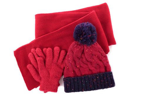 手袋「Winter hat, scarf and gloves」:スマホ壁紙(4)