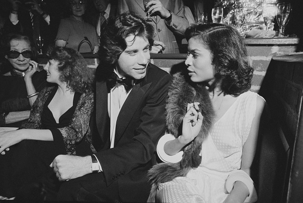 俳優「John Travolta with Bianca Jagger」:写真・画像(19)[壁紙.com]