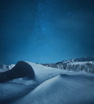 Snowdrift「Winter Night In The Mountains」:スマホ壁紙(7)