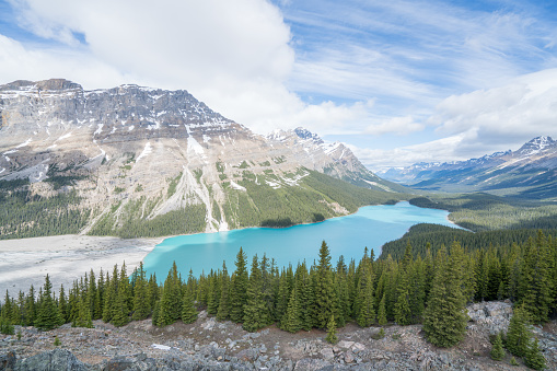 Beauty In Nature「カナダ バンフ国立公園ペイトー湖」:スマホ壁紙(15)