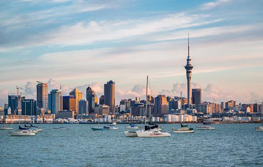 Auckland「Auckland evening skyline」:スマホ壁紙(16)