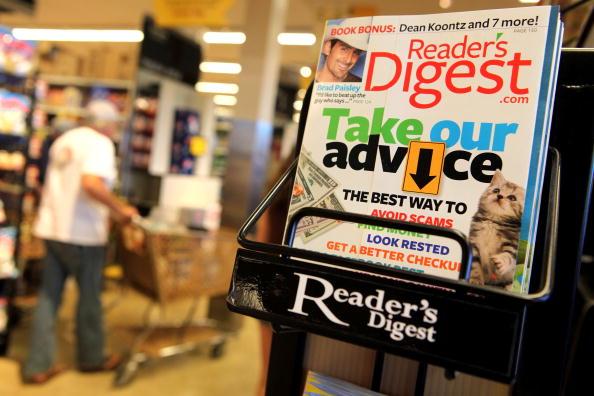 San Anselmo「Reader's Digest Files For Bankrupcty」:写真・画像(7)[壁紙.com]