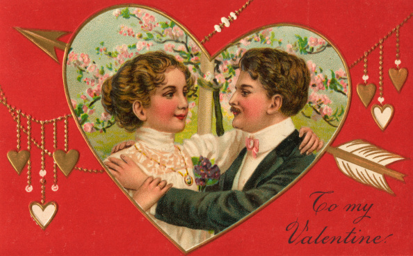 1900-1909「To My Valentine Illustration」:写真・画像(2)[壁紙.com]