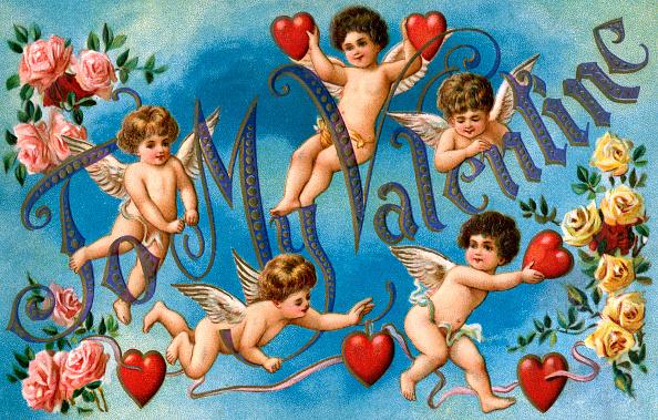 ハート型「To My Valentine」:写真・画像(6)[壁紙.com]