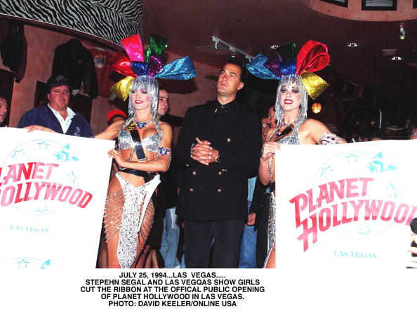 Opening Ceremony「Las Vegas Nv Steven Seagal At The Official Opening Of Planet Hollywood In Las Vegas See He」:写真・画像(5)[壁紙.com]