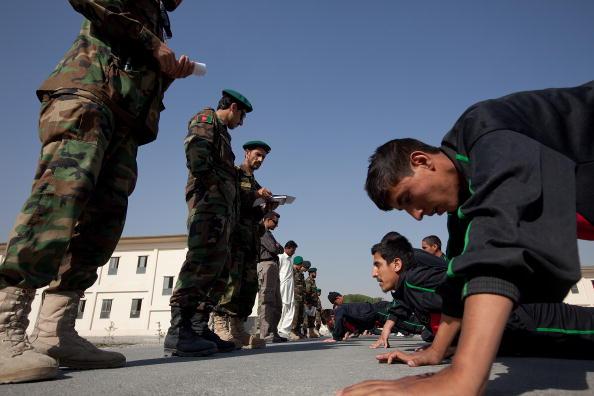 Kabul「Afghan Quick Reaction Force Undergo Physical Training Test」:写真・画像(0)[壁紙.com]