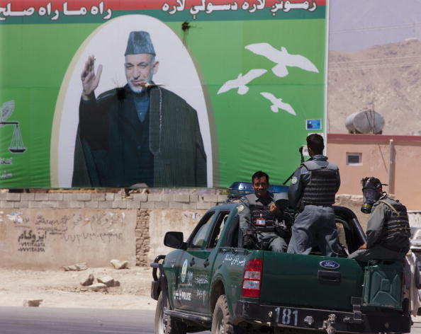 Kabul「Kabul Hit By Violence On Eve Of Elections」:写真・画像(13)[壁紙.com]