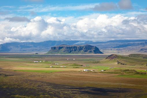 Dyrholaey「Farms in Iceland」:スマホ壁紙(19)