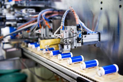 Electronics Industry「A li-ion battery production line.」:スマホ壁紙(14)