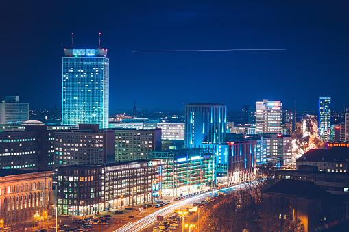 Panoramic「blue hour in Berlin」:スマホ壁紙(5)