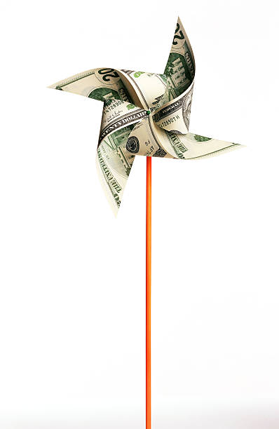 Money pinwheel:スマホ壁紙(壁紙.com)