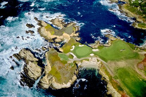Green - Golf Course「Cypress Point Club」:スマホ壁紙(15)