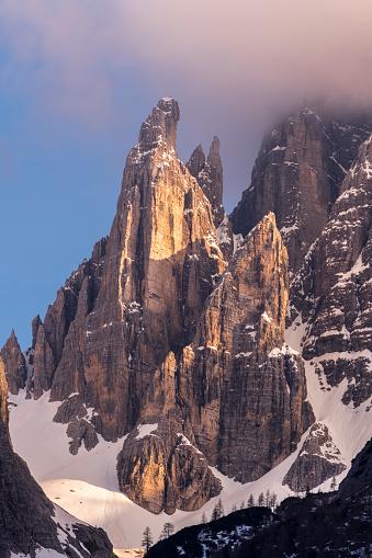 Alto Adige - Italy「Italy, Province Belluno, Hochpuster Valley, Nature Park Tre Cime, Sexten Dolomites, Zwoelferkofel」:スマホ壁紙(13)