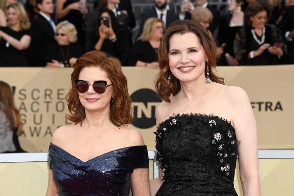 Geena Davis「24th Annual Screen Actors Guild Awards - Arrivals」:写真・画像(15)[壁紙.com]