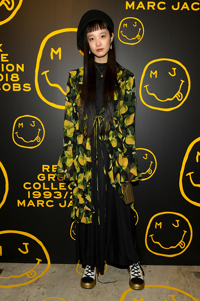 Beret「Marc Jacobs, Sofia Coppola & Katie Grand Celebrate The Marc Jacobs Redux Grunge Collection And The Opening Of Marc Jacobs Madison」:写真・画像(15)[壁紙.com]