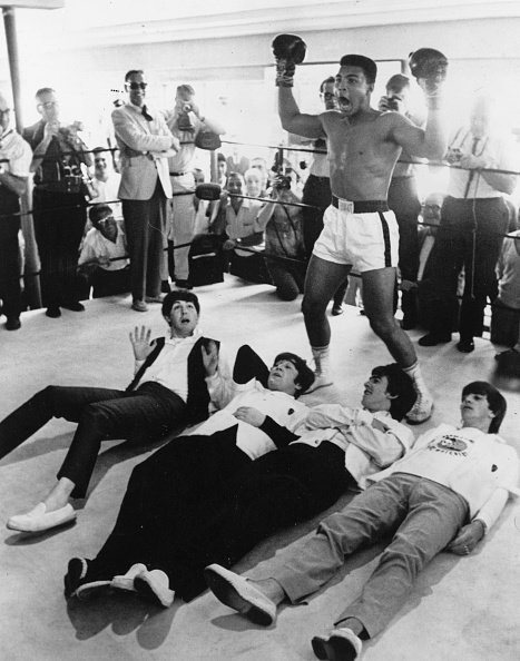 Mohammed Ali「Clay And The Beatles」:写真・画像(10)[壁紙.com]