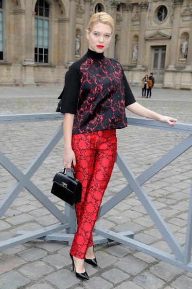 Louis Vuitton Purse「Louis Vuitton - Front Row - PFW F/W 2013」:写真・画像(5)[壁紙.com]