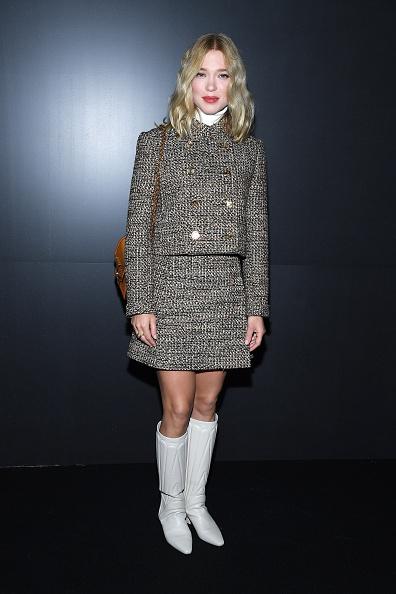 Cropped Jacket「Louis Vuitton : Front Row - Paris Fashion Week Womenswear Fall/Winter 2020/2021」:写真・画像(8)[壁紙.com]