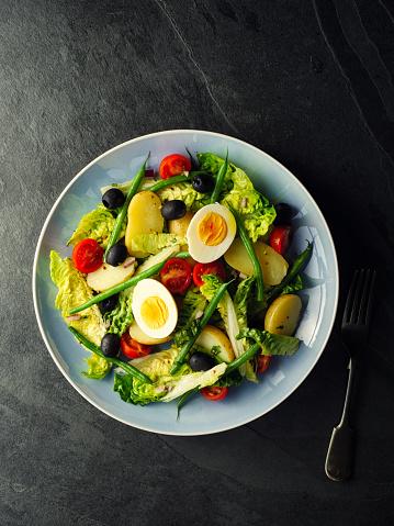 Vinaigrette Dressing「Vegetarian salad nicoise」:スマホ壁紙(12)