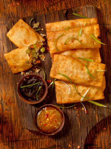 Soy Sauce「Vegetarian Eggrolls with Dipping Sauces」:スマホ壁紙(17)